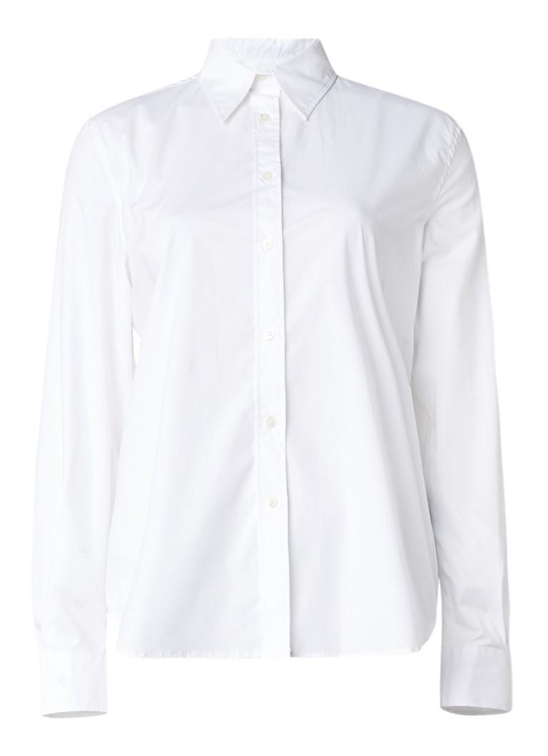 Ralph Lauren Jamir fitted blouse van katoen