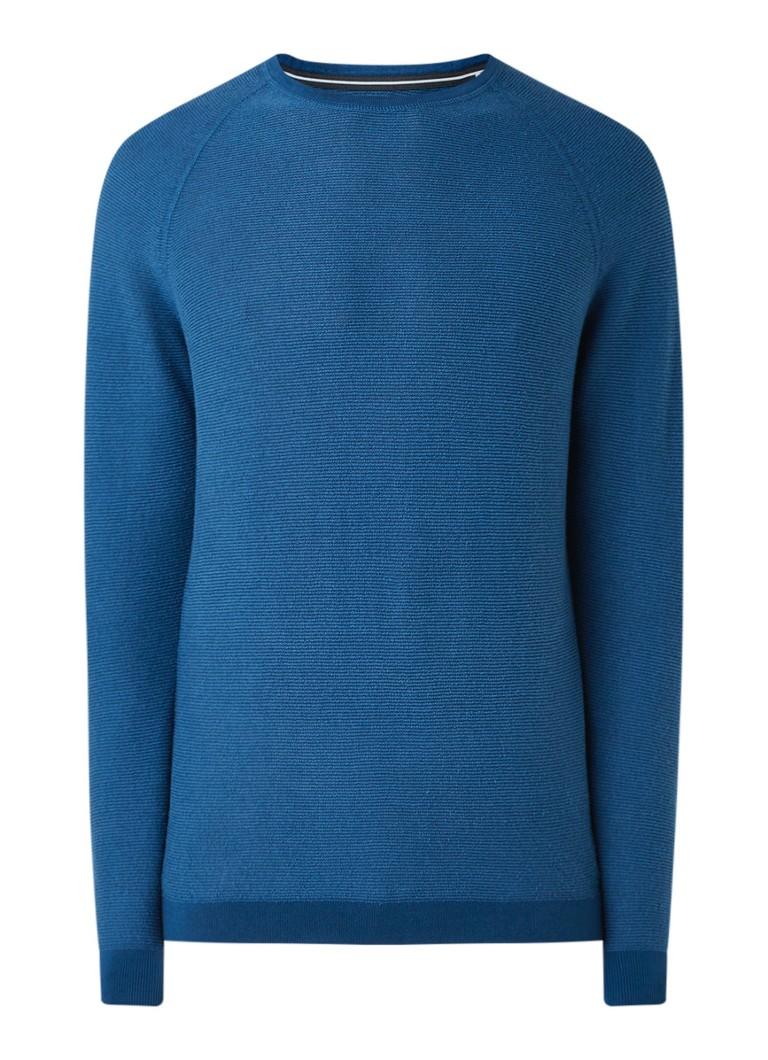 Marc O'Polo Fijngebreide pullover van biologisch katoen