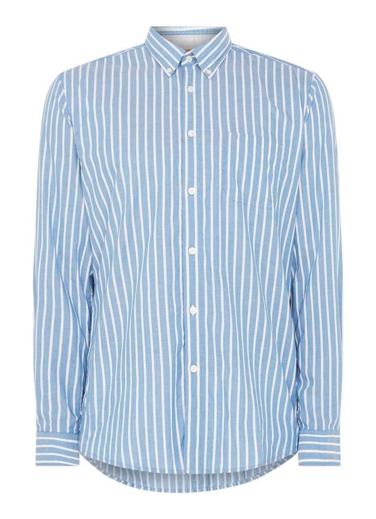 Marc O'Polo Regular fit overhemd met streepprint