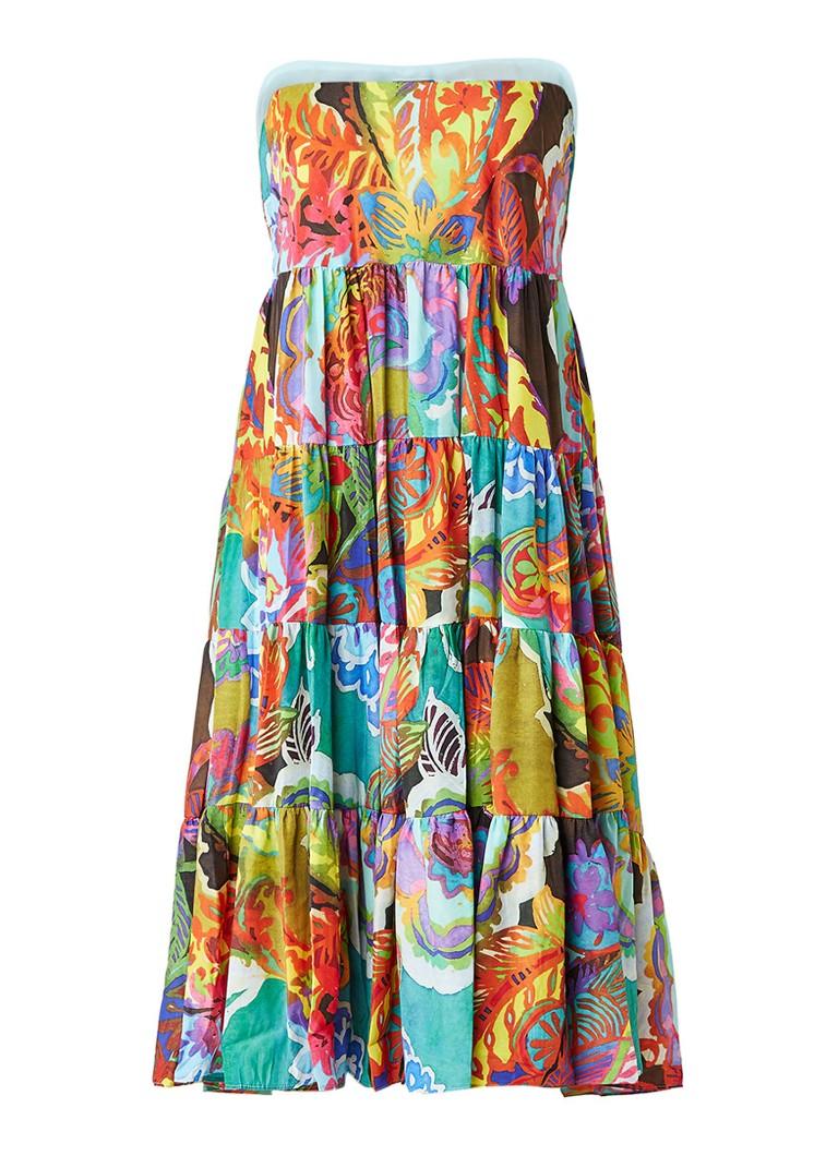 Ralph Lauren Moriah tuniekjurk met kleurrijke print multicolor