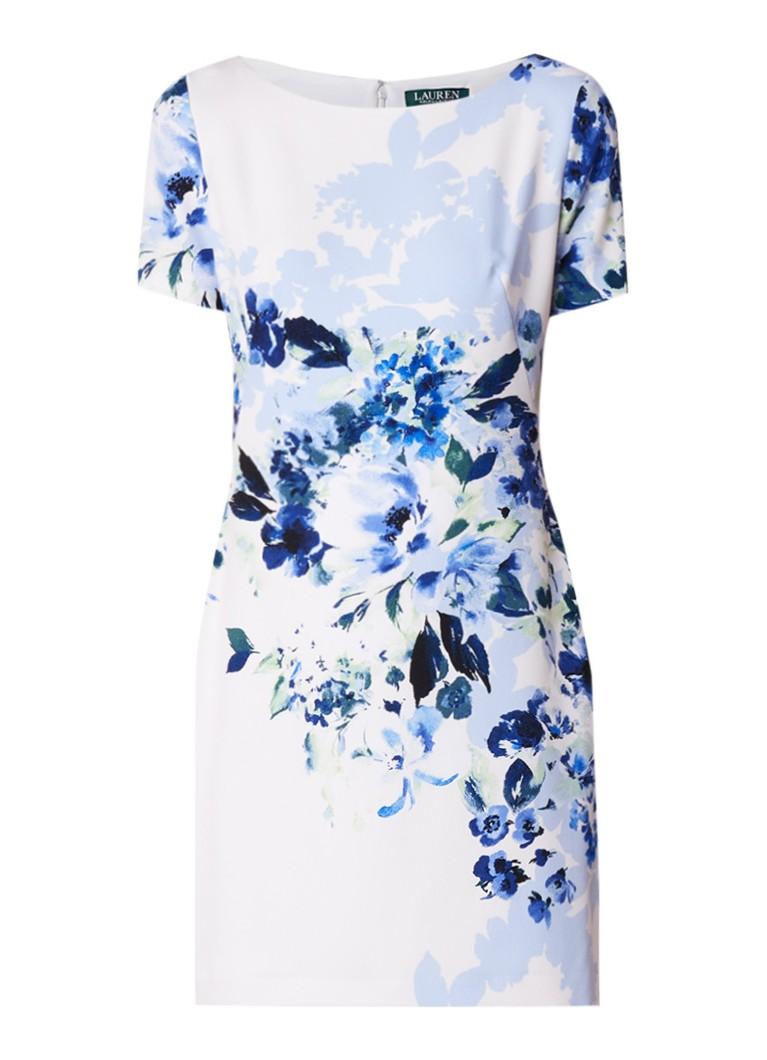 Ralph Lauren Chaselle tuniekjurk met bloemendessin blauw
