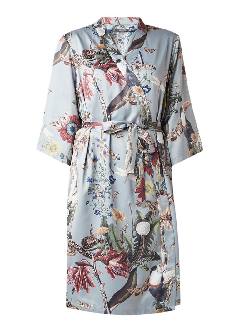 Essenza Sarai Airen kimono van satijn met strikceintuur