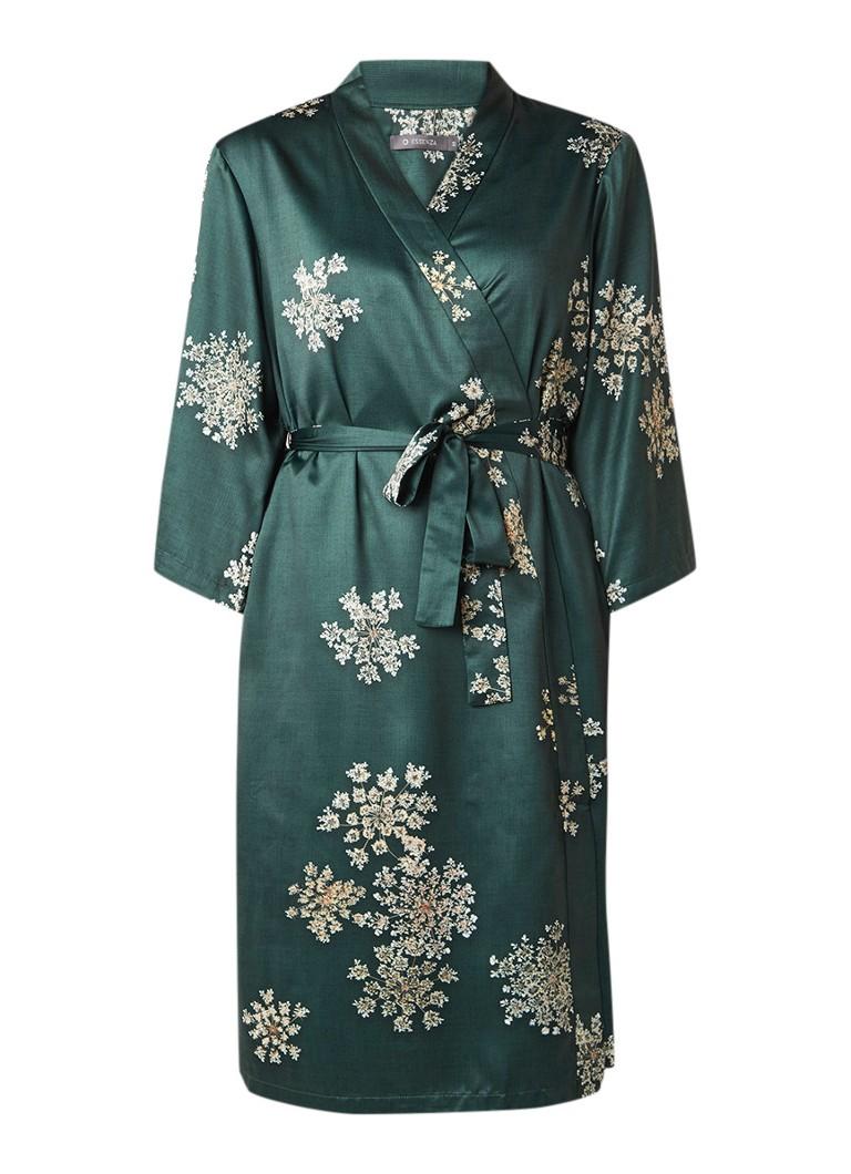 Essenza Sarai Lauren kimono van satijn met strikceintuur