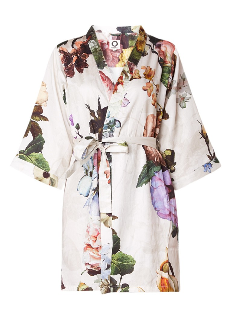 Essenza Fleur kimono met bloemendessin