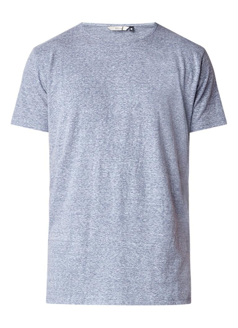 RVLT Revolution Gemêleerd T-shirt in katoenblend