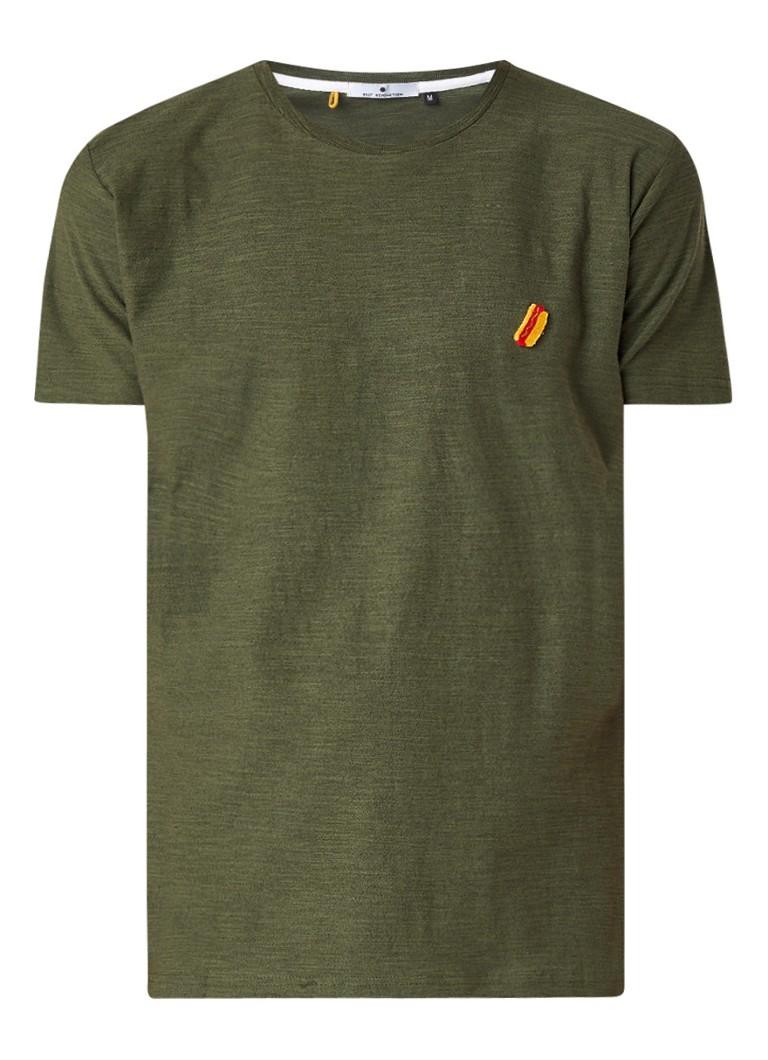 RVLT Revolution Kenneth Hotdog T-shirt met borduring