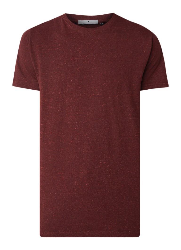 RVLT Revolution Boerge T-shirt met gemêleerd dessin
