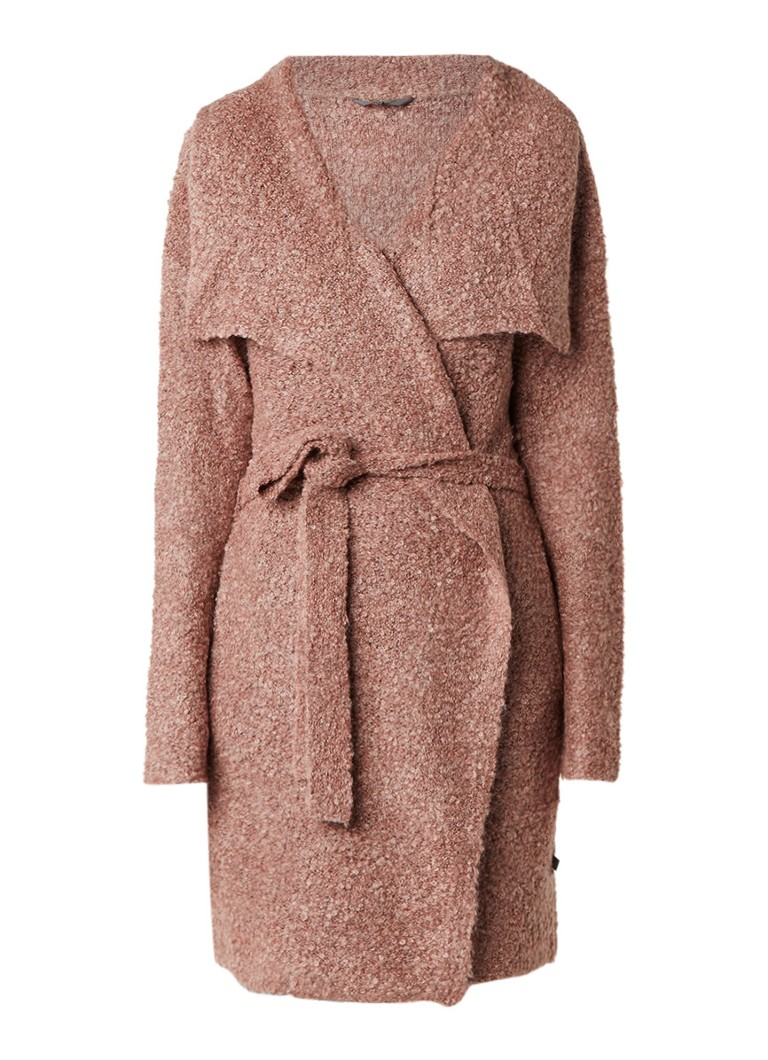 Rituals Home Anja bouclé vest in alpaca wolblend