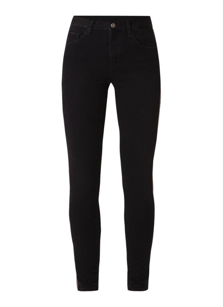 Liu Jo Divine high rise skinny fit jeans met stretch en strass