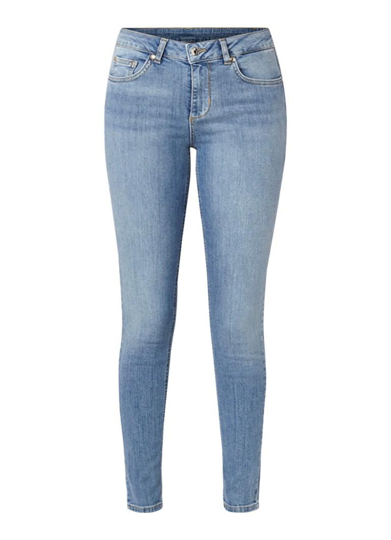 Liu Jo Divine high rise skinny fit jeans met washed look