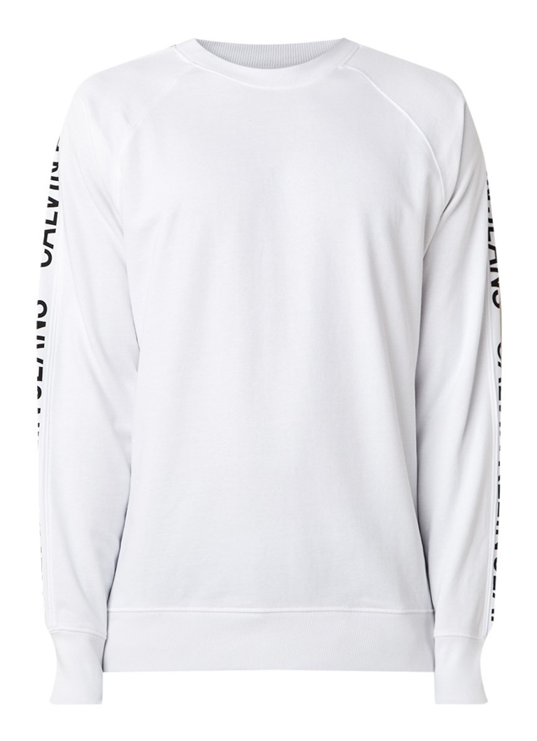 Calvin Klein Institutional sweater met logobies