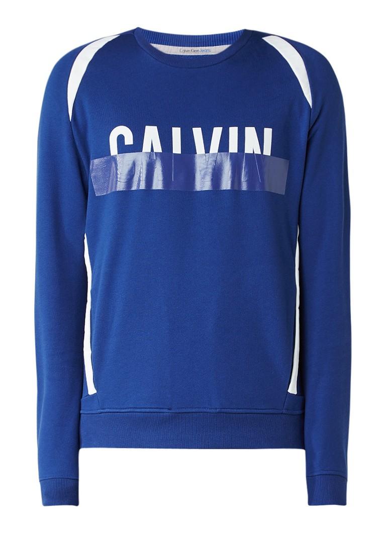 Calvin Klein Haldi sweater met logo-opdruk
