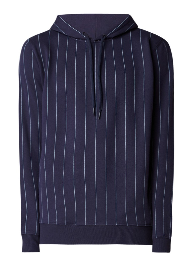 Calvin Klein Hespero hoodie met krijtstreep