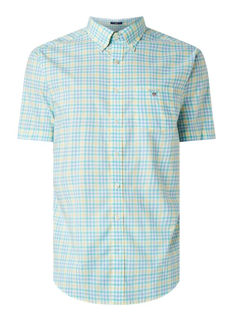 Image of Gant Regular fit overhemd met ruitdessin