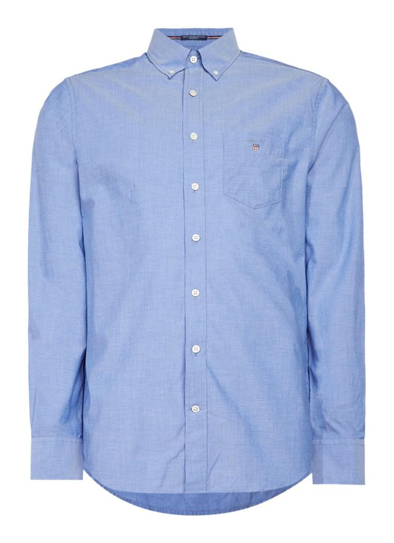 Gant Regular fit overhemd met borstzak