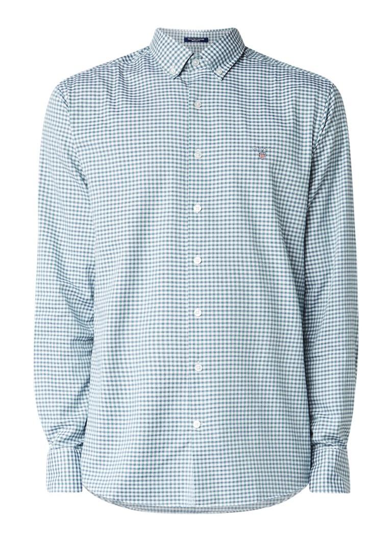Gant Regular fit button down-overhemd met blokruit