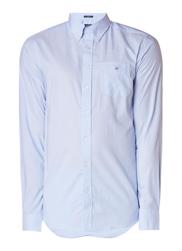 Gant The Plain Broadcloth regular fit button down-overhemd