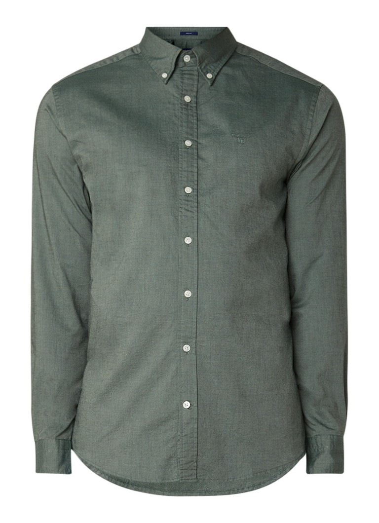 Gant Heather regular fit button down-overhemd