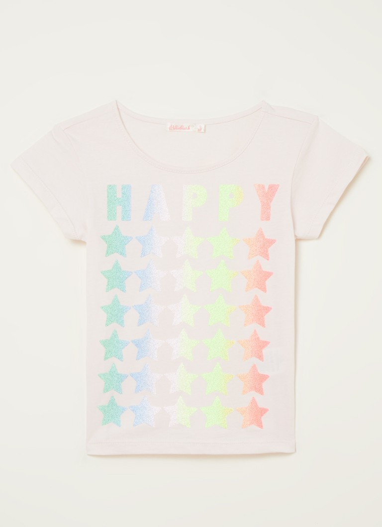 Billieblush T-shirt met glitter frontprint