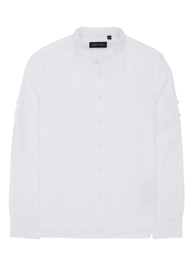 Antony Morato Overhemd met ingeweven dessin