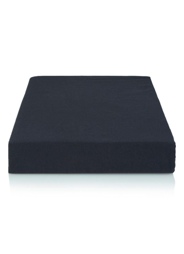 Vandyck Hoeslaken topper, katoensatijn, hoekhoogte 15 cm