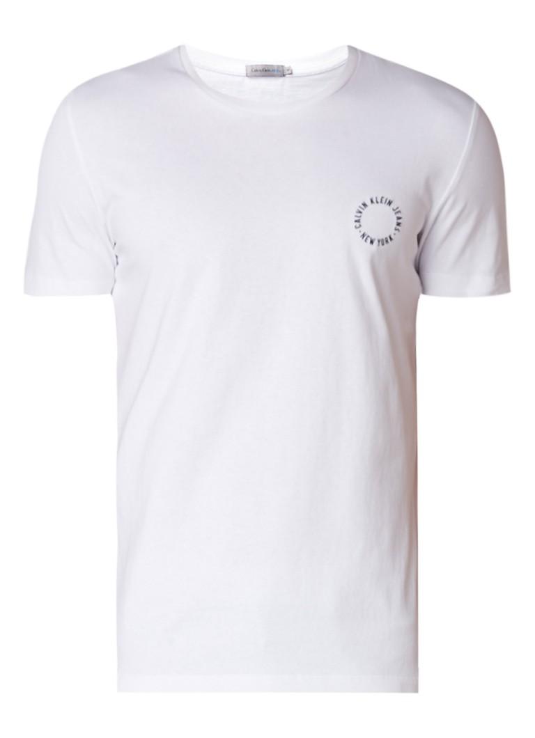 Calvin Klein Tradon T-shirt met geborduurd logo