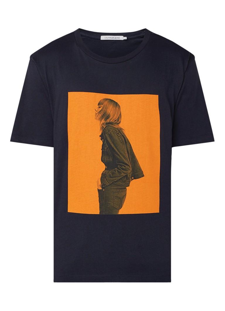 Calvin Klein Girl Photo T-shirt met fotoprint