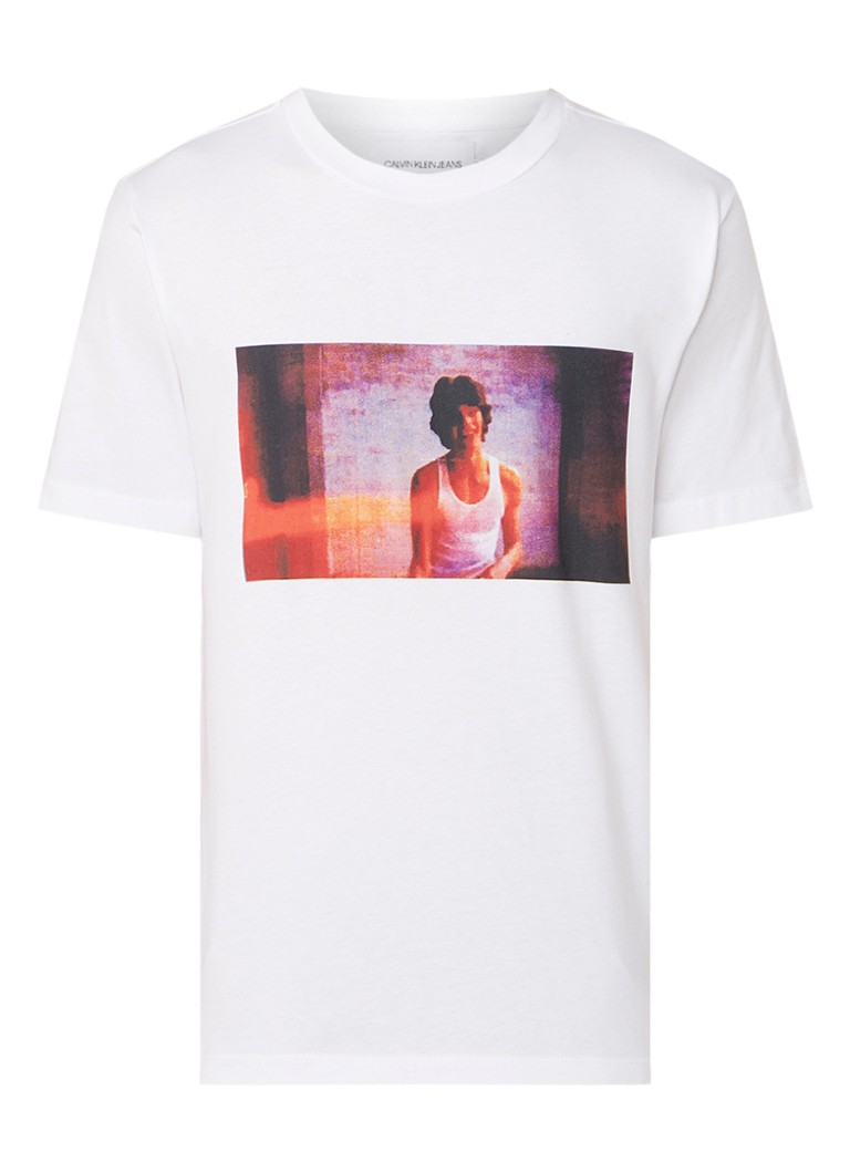 Calvin Klein Digital Photo T-shirt met fotoprint