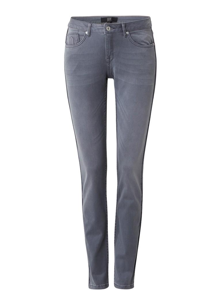 Dept Mid rise slim fit jeans met faded look