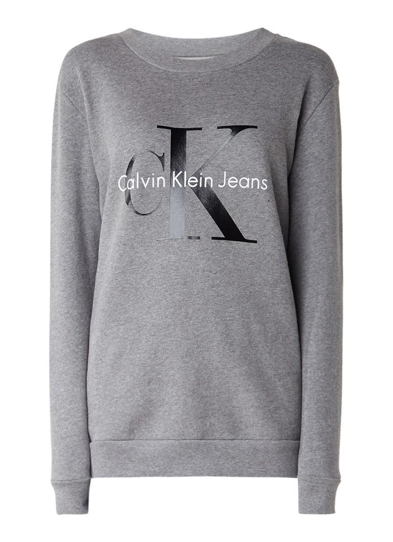 Calvin Klein Sweater met logoprint