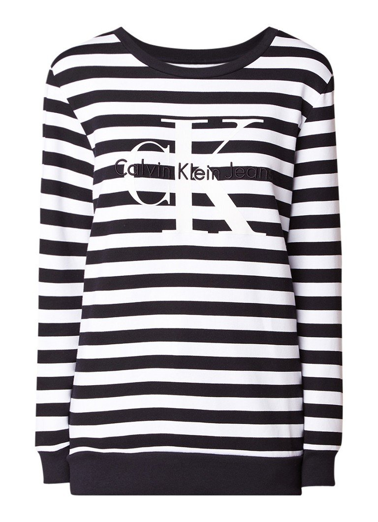 Calvin Klein True Icon oversized sweater met logoprint