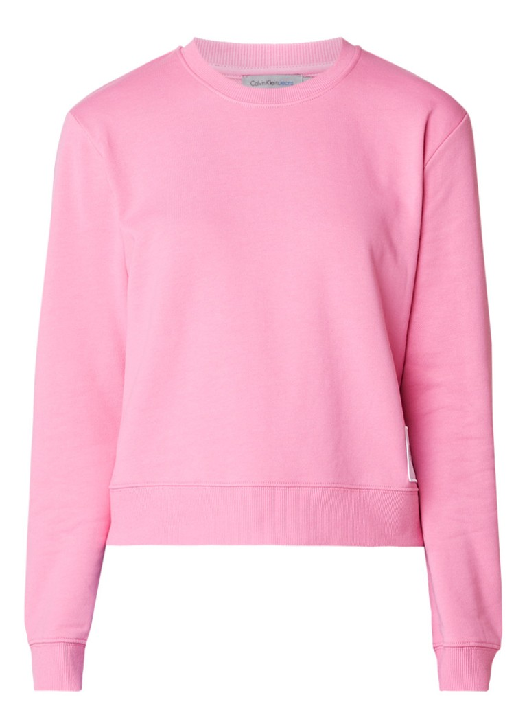 Calvin Klein Harrisi True Icon sweater met logo-applicatie