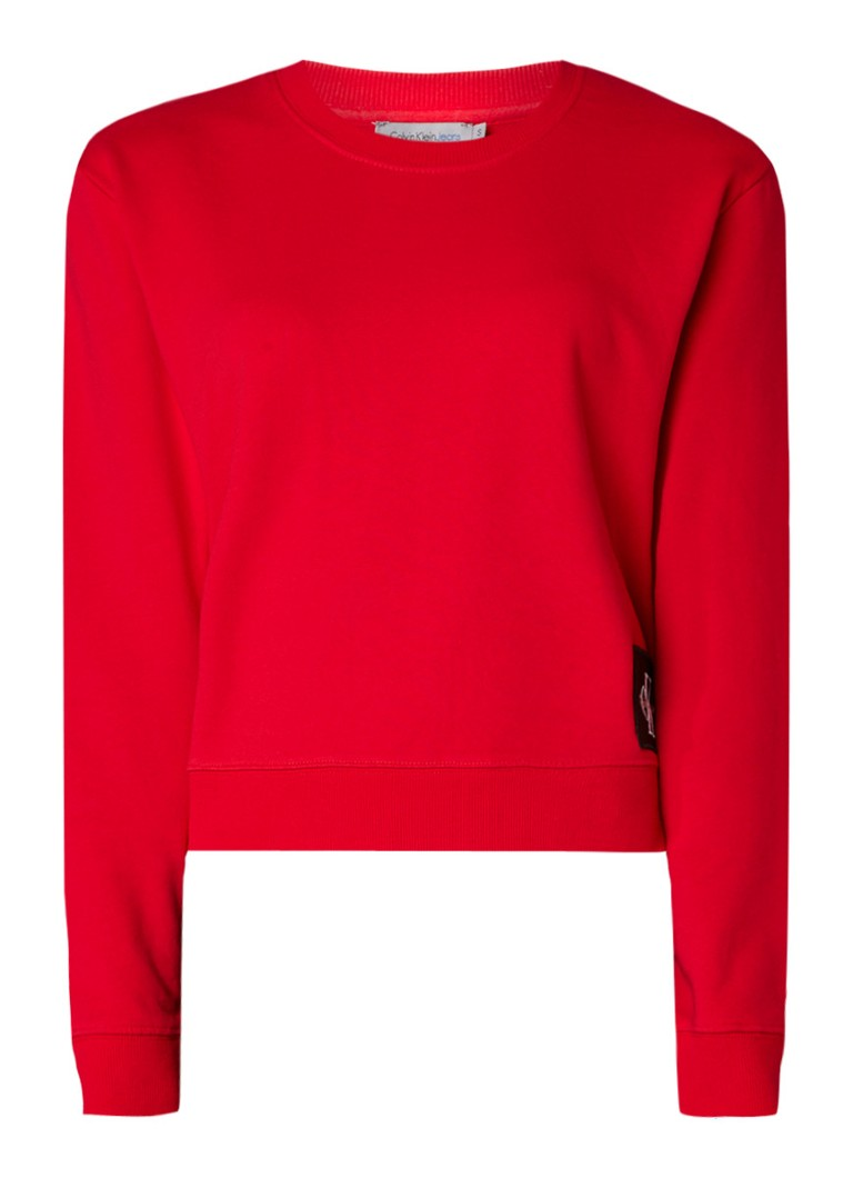 Calvin Klein Harrison True Icon sweater met merkembleem