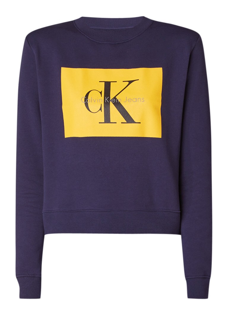 Calvin Klein True Icon sweater met logoprint