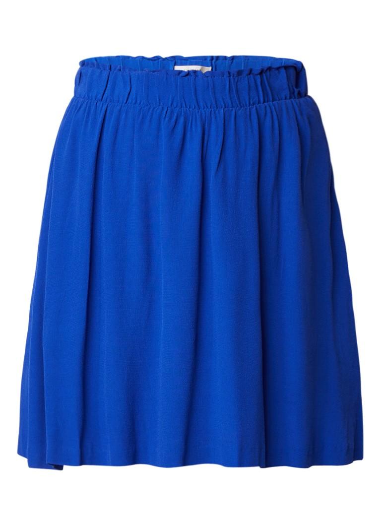 Selected Femme Bisma A-lijn rok van crêpe met elastische tailleband