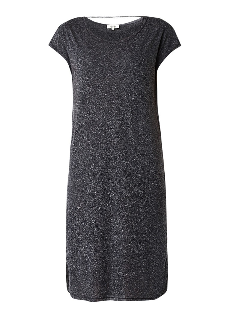Selected Femme Ivy tuniekjurk van jersey antraciet