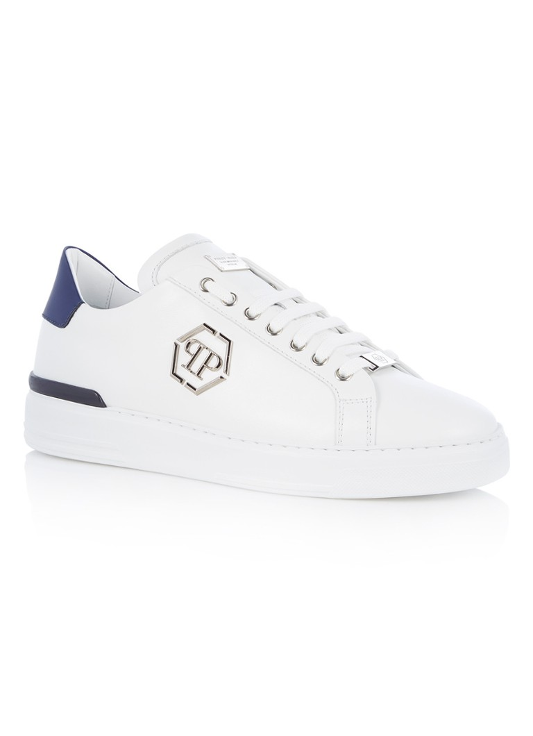 Philipp Plein Caribou lo-top sneaker met logo applicatie