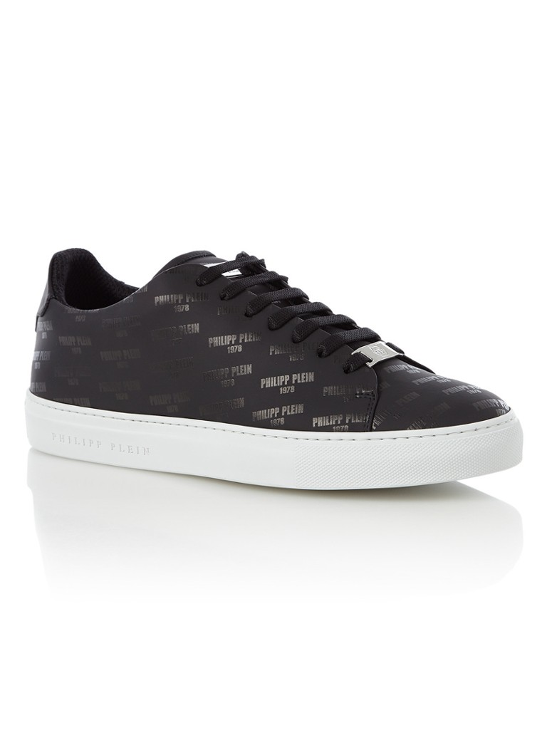 Philipp Plein Yeager low top sneaker van kalfsleer met logoprint