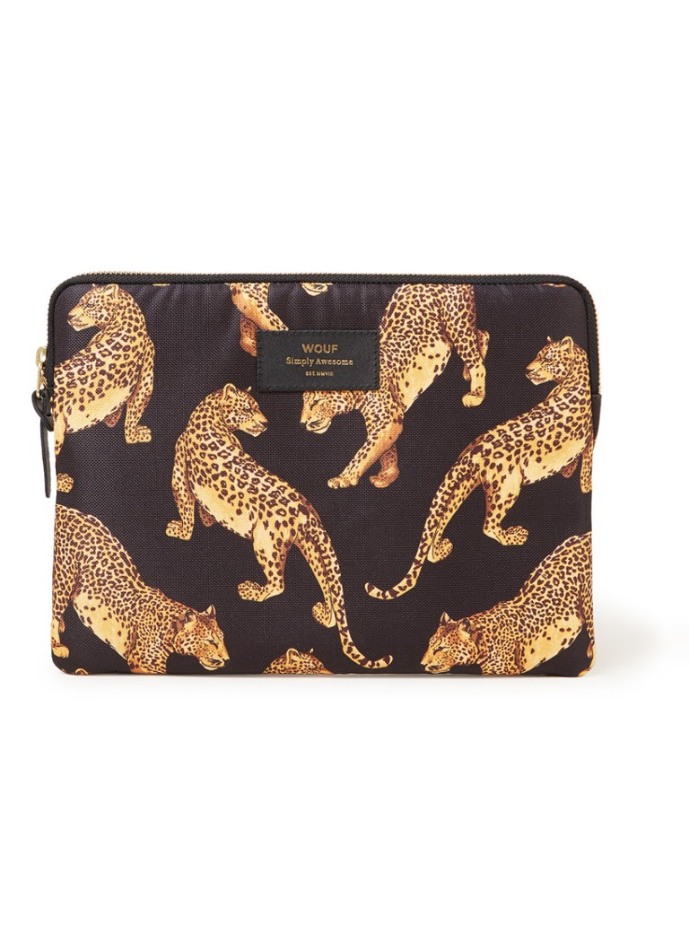 Wouf Leopard tablethoes met dessin 10.5 inch