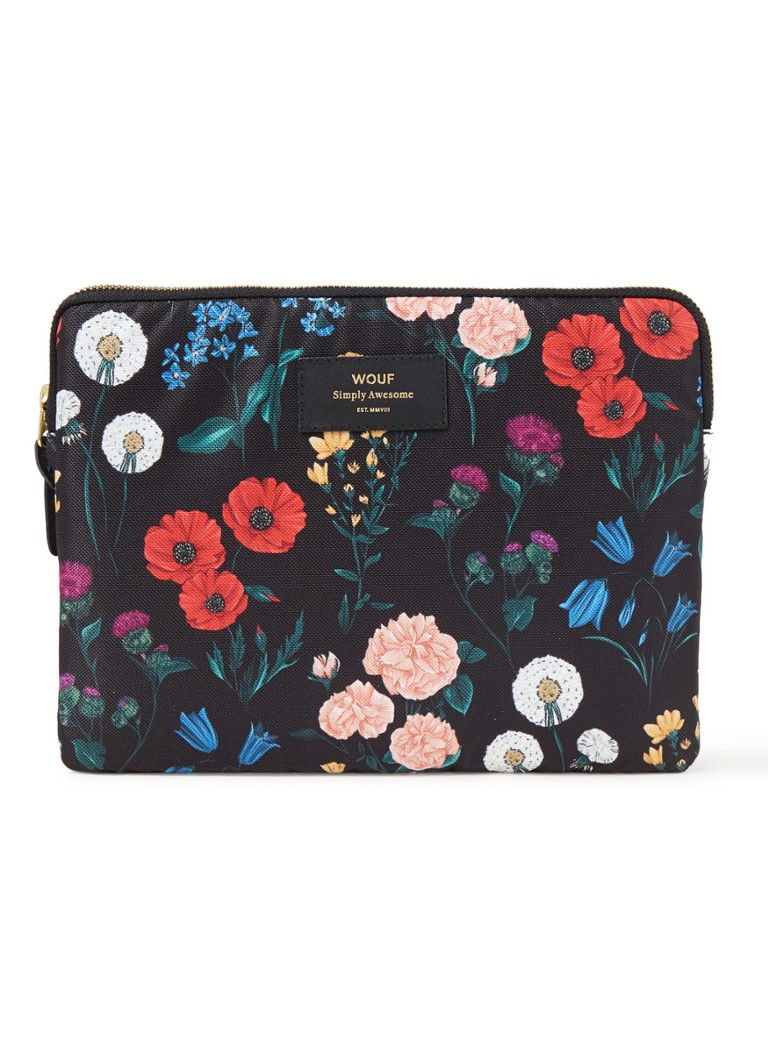 Wouf Blossom tablethoes met bloemendessin 10.5 inch