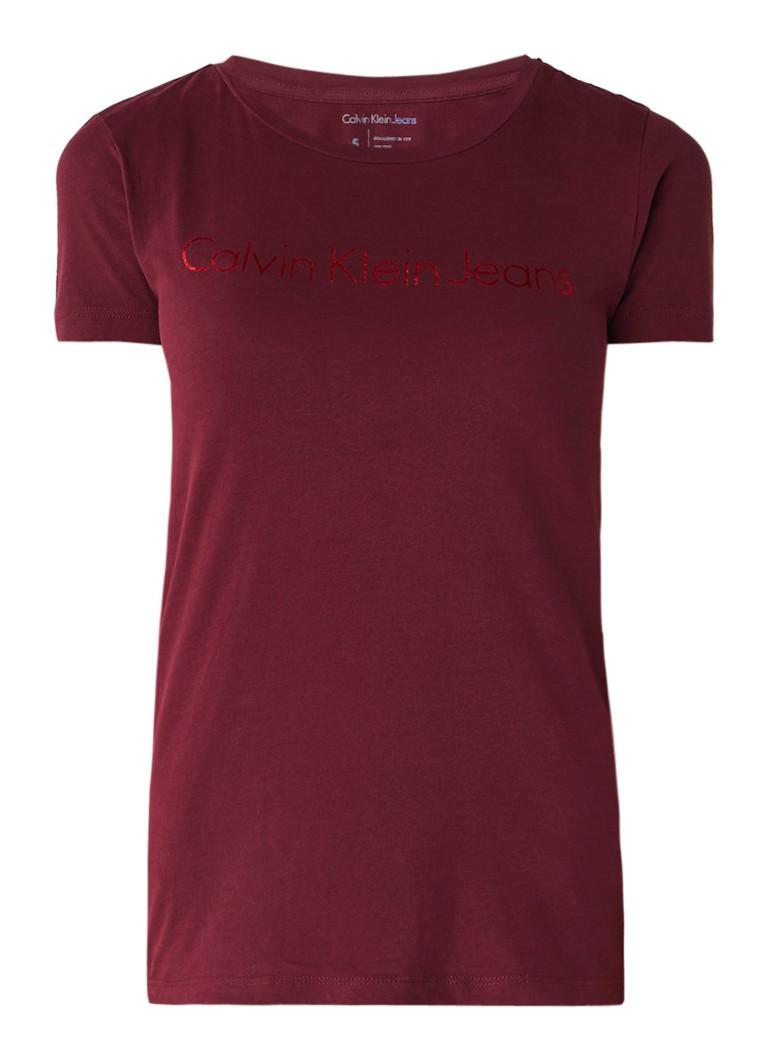 Calvin Klein Tamar T-shirt met logoprint