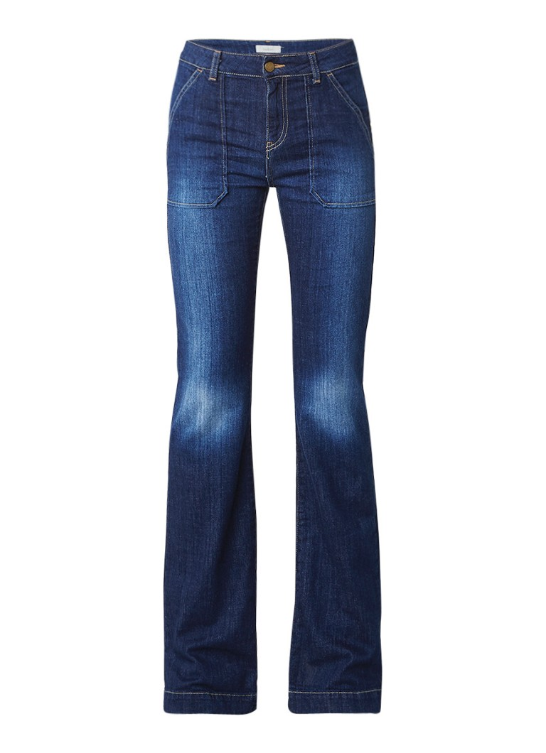 ba and sh Dmax high rise flared fit jeans