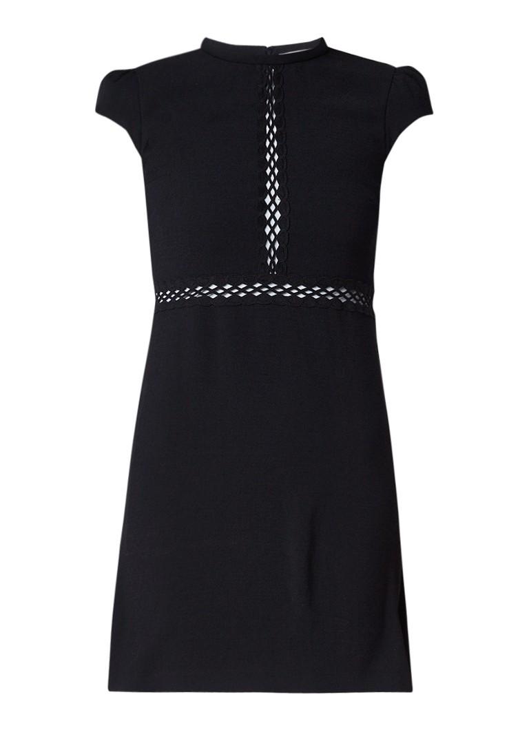 BA&SH Orth jurk met cut-out details zwart