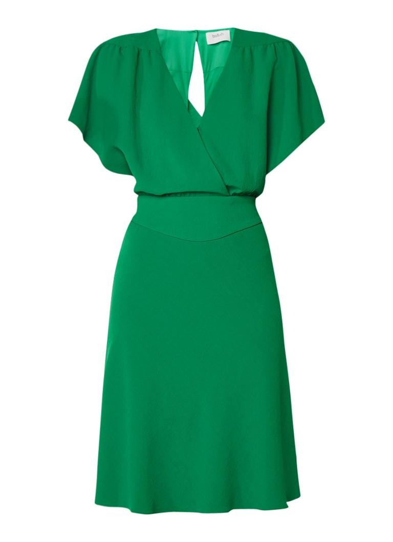 BA&SH Siranda A-lijn jurk met rugdecolleté diepzwart