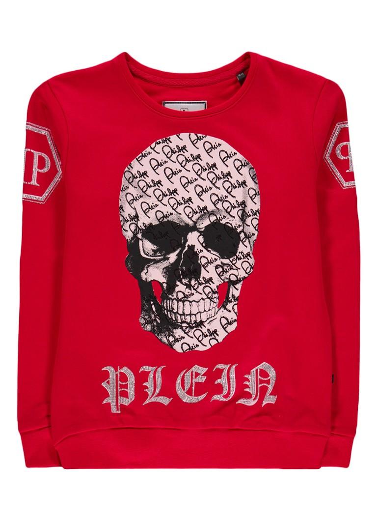 Philipp Plein By the Time sweater met skullprint