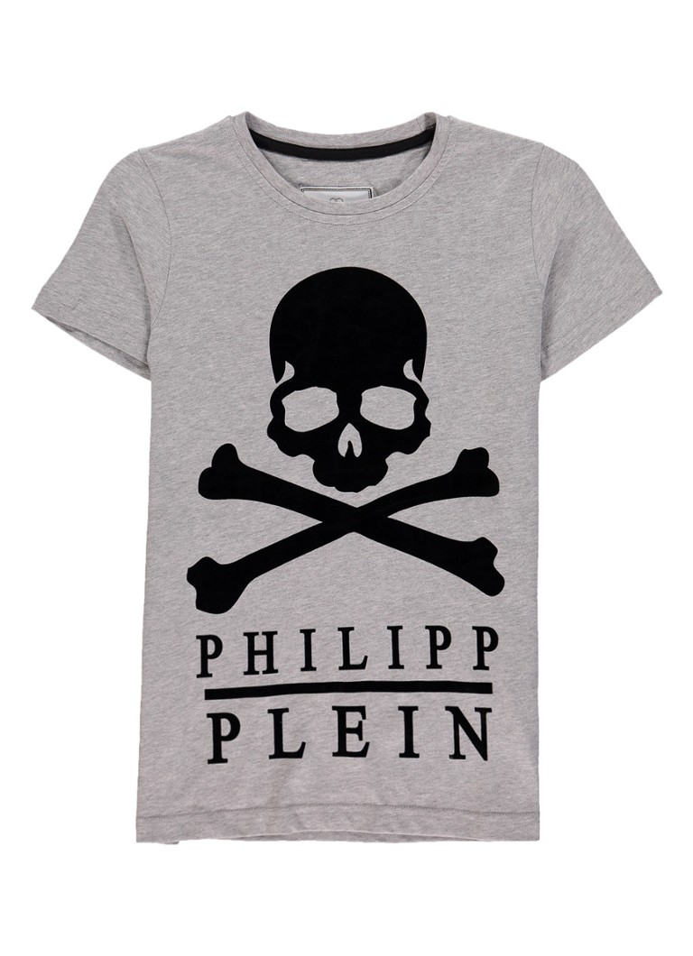 Philipp Plein Big Skull T-shirt met opdruk