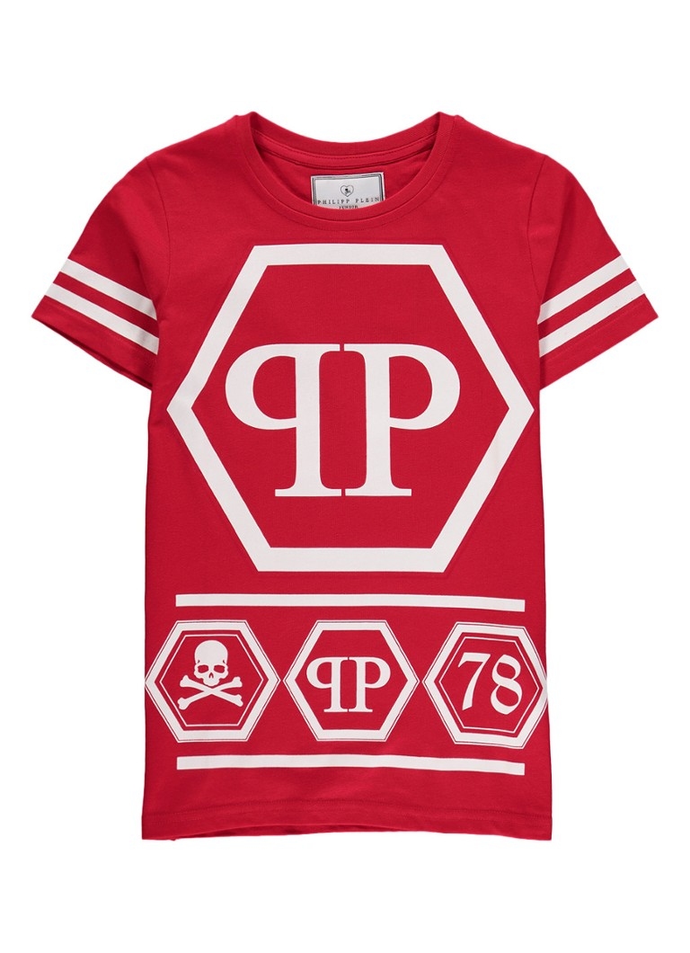 Philipp Plein Boum Boum T-shirt met logo opdruk