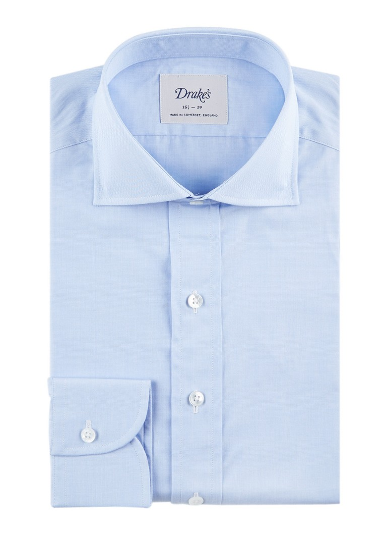 Drake's Regular fit overhemd van katoen