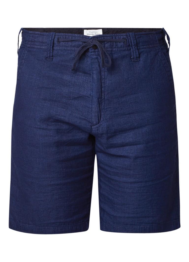 Hartford Berry shorts met steekzakken en taillekoord