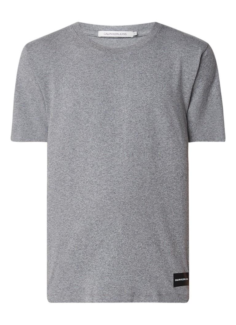 Calvin Klein Authentic regular fit T-shirt van katoen